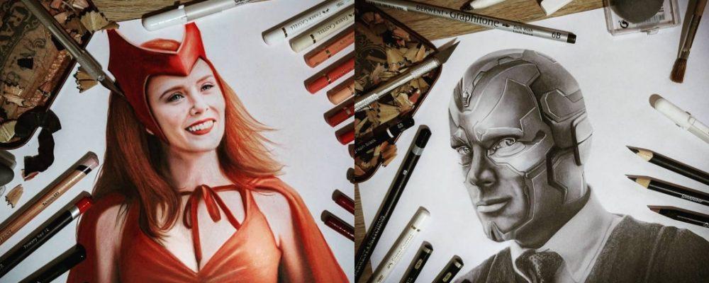 Las ilustraciones realistas de Santiago Moca