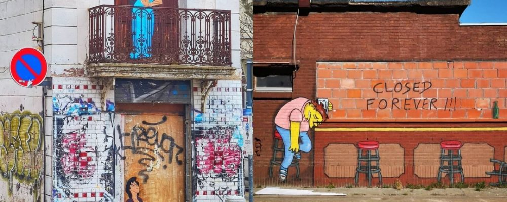 El arte urbano de Oakoak