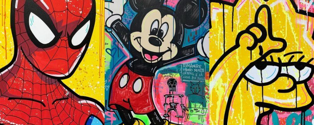 Los fan arts frikis de Federico Picariello