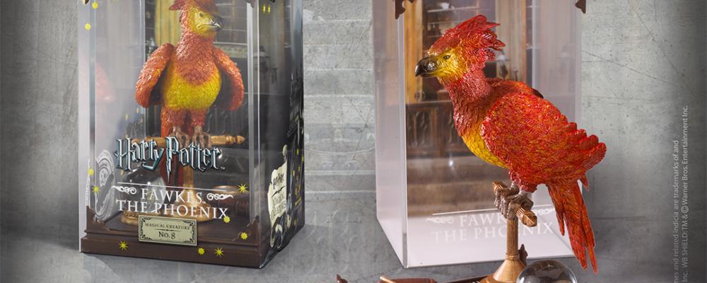 La figura de Fawkes que puedes tener en tu colección