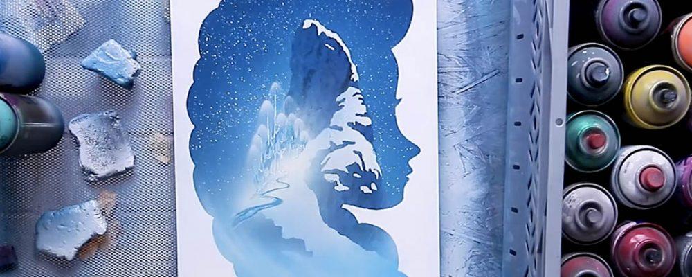 Frozen por Skech Art