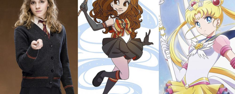 hermione sailor moon