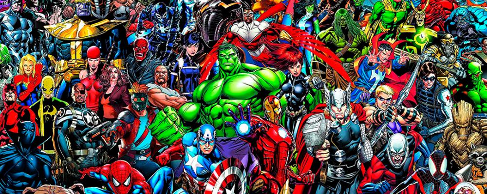 El puzzle de Marvel de 1000 piezas
